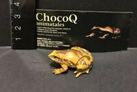 Kaiyodo Animatales Choco Q Series 6  Ornate narrow-mouth frog Figure