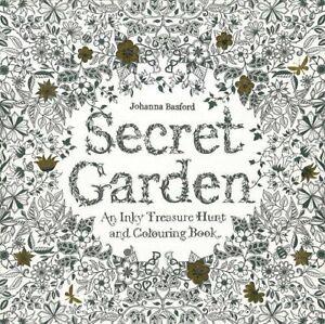 Secret Garden: An Inky Treasure Hunt and Colouring Book: 1 by Johanna Basford
