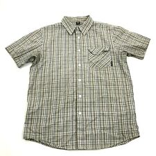 Oakley Button Up Relaxed Shirt Mens Size M Short Sleeve Executive Casual Pocket