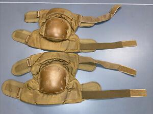 Alta Industries Tactical Knee Pads Khaki 1 Pair Small Hook Loop Hard Shell