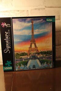 Signature Collection Eiffel Tower Paris 1000 Puzzle Brand New Buffalo Sealed NIB