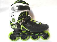 Fila NRK NOS Slalom Freeskate Streetskate Inliner - Black Green Gr. 42