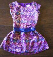Little Girls Evening Dress Size 8 Metallic Purple Dressy American Girl