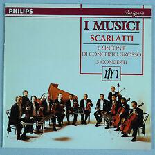 Scarlatti: 6 Sinfonie di Concerto Grosso/I Musici-Philips Full Silver W Ger PMDC
