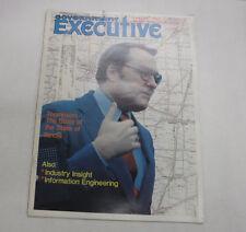 Government Executive Magazine Thompson Illinois February 1980 FAA 110216R