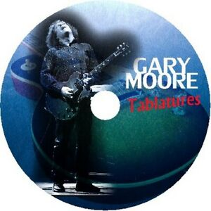GARY MOORE BLUES GUITAR TAB CD TABLATURE SONG BOOK GREATEST HITS BEST OF