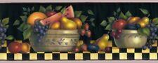 Chesapeake - Fruit Bowls Shelf - AV6716.4 - Premium Wallpaper Border Lot 4