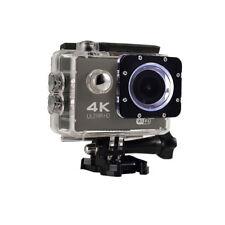 New 4K Ultra Hd 12Mp WiFi Waterproof Sports Action Camera (Black)