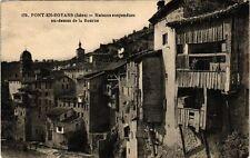 CPA   Pont-en-Royans(Isére) - Maisons suspendues au-dessus de la Bourne (241521)