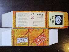BOITE VIDE NOREV  CITROEN 2CV AZU  1956  EMPTY BOX CAJA VACCIA