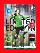 EURO FRANCE 2016 - Adrenalyn Panini - Card Limited Edition - NEUER - DEUTSCHLAND