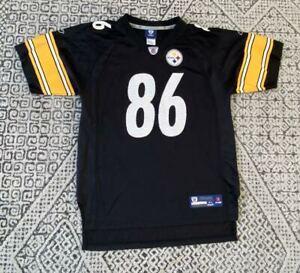 Kids Hines Ward Pittsburgh Steelers NFL Football Reebok Jersey Size Kids XL