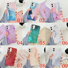 For iPhone 11 Pro Max XS XR 7 8 Plus X SE Marble Protective Soft TPU Case Cover