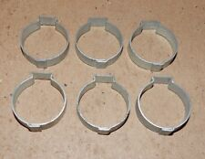 "29/32"" Hose Pinch Clamps Single Ear 6ea Tubing Dixon Keystone ZincSteel USA 160S"