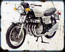 Benelli 750 Sei 73 2 A4 Metal Sign Motorbike Vintage Aged