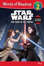 World of Reading Star Wars The Fight in the Forest (Level 2)-ExLibrary