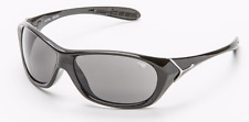 Cebe JACKAL CBD001 NEW Wrap Sunglasses Jet Black / 1500 Grey FREE CASE UV CAT 3
