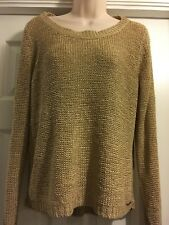 Only ~ Ladies Gold Sweater / Size M