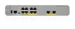 Cisco Catalyst 3560CX-8PT-S Switch- WS-C3560CX-8PT-S With DC Power Supply