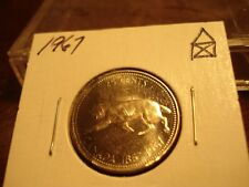 1967 - Silver - Canadian quarter - Canada 25 cents