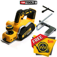 DeWalt DCP580N 18V XR Li-Ion Cordless Brushless Planer + Free Tape 5M/16ft