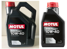 5 LITRI OLIO MOTUL 2100 POWER + 10W40 TECHNOSYNTHESE A3 B4 MB-APPROVAL 229.1