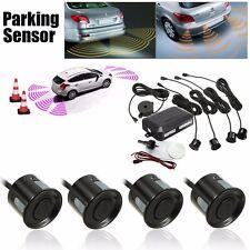 Reversa Radar Sistema Kit Coche/Vehículo 4 Sensores Aparcamiento Parking Reserva