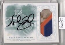 "2015 TOPPS DYNASTY ""NOAH SYNDERGAARD"" RC-AUTOGRAPH JERSEY PATCH-ROOKIE AUTO 2/5!"