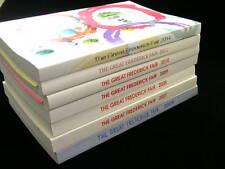 7 Great Frederick Fair Premium List Books 2006 - 2011 & 2014