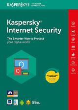 Kaspersky Internet Security 2018 1 PC 1 Year Multi Device Licence