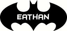 personalised batman LOGO, Graphic Vinyl Decal Sticker. door, wall new design