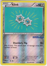 "POKEMON ""KLINK"" #71/114 REVERSE HOLO RARE CARD - NEVER BEEN PLAYED - MINT"