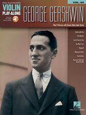George Gershwin Violin Play-Along Book and Audio New 000159612