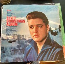 """ORIGINAL Elvis """"Elvis' Christmas Album"""" LPM 1951 LP Record Album d39"""