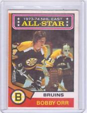 1974-75 O-PEE-CHEE OPC NO. 130 BOBBY ORR BOSTON BRUINS 1973-74 NHL EAST ALL-STAR