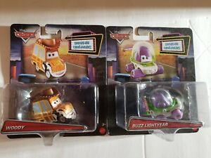 2020 Disney Cars Toy Story Woody Buzz Lightyear Lot of 2