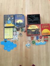 Klaus Teuber The Settlers Of Catan And Explores And Pirates Game Lot Of 2