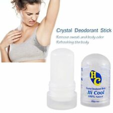 Crystal Salt Deodorant Natural Travel Strong Invisible Pure Alum Rock Stick Stik