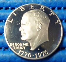 1776 - 1976 United States $1 Bicentennial Silver Proof Coin with capsule