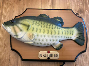 Vintage Big Mouth Billy Bass Gemmy PARTS ONLY