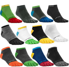 12 Pairs Random Fahshion Men Unisex Five Finger Separate Toe Socks Value Pack