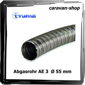 truma Abgasrohr AE3 Ø 55 mm für Heizung S 3004 S 3002 S 2200 Kamin Dachkamin