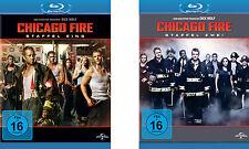 10 Blu-rays * CHICAGO FIRE - STAFFEL / SEASON 1 + 2 IM SET # NEU OVP +