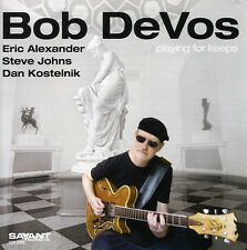 Bob DeVos - Playing for Keeps [New CD]