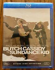 New Butch Cassidy & Sundance Kid 1969 Blu-ray