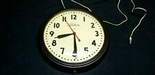 Vintage c.1950s TELECHRON Electric Commercial or Industrial Clock