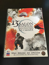 CATALOGUE OEUVRES 13E SALON NATIONAL DES PEINTRES DE L'ARMEE 2003 PALMARES CARTE