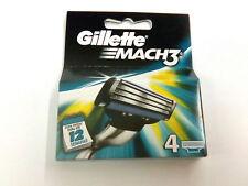Gillette Mach3 ricambio rasoio lamette 4 pezzi trilama rasatura uomo Mach 3