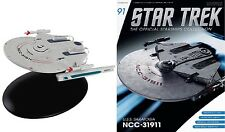 STAR TREK Official Starships Magazine #91 USS Saratoga (NCC-31911) Eaglemoss