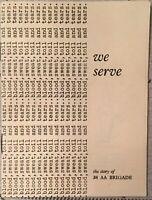 We Serve The Story of 38 AA Brigade 1943 (Light Anti Aircraft Brigade) Book